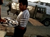 Photo: A man selling fish in Gaza